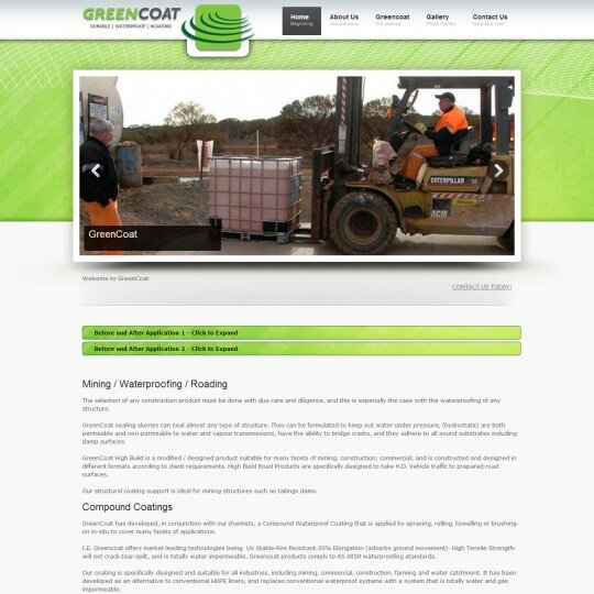 Mining waterproofing roads WA