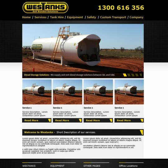 Self bunded tanks Perth