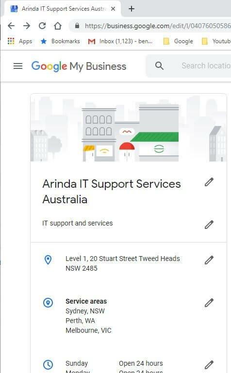 Google My Business help Perth WA